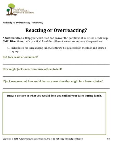 React vs overreact teen wb
