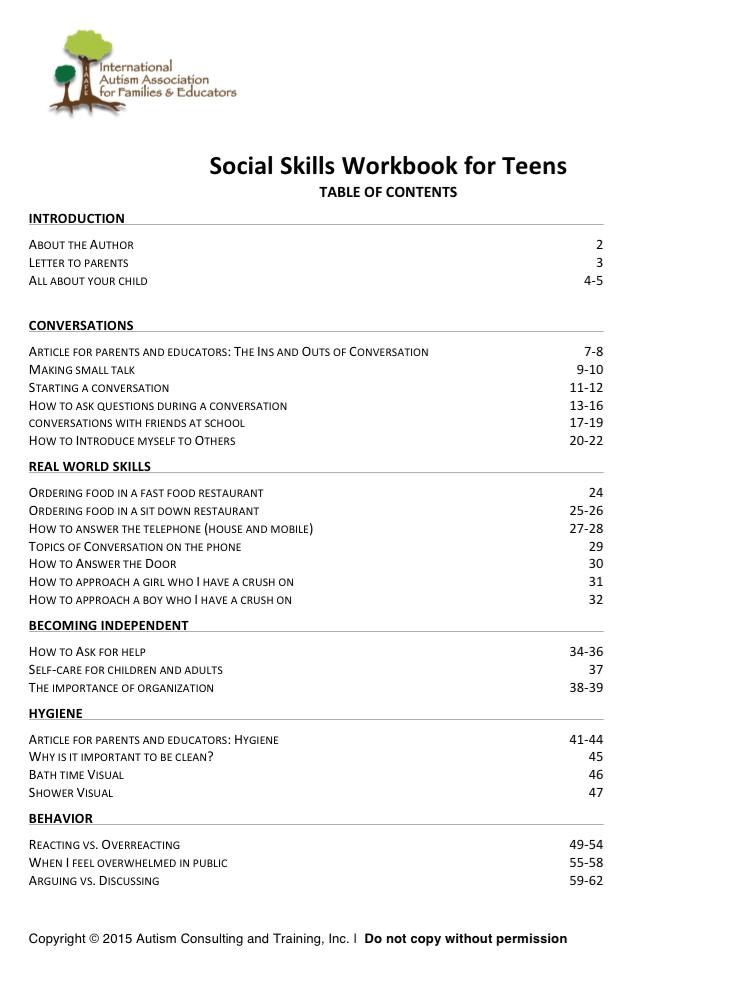 Social Skills Teens With Autism | Autism Educates