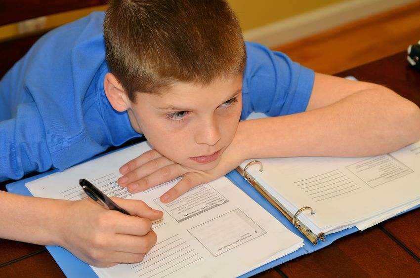 Why might your autistic child find homework hard?